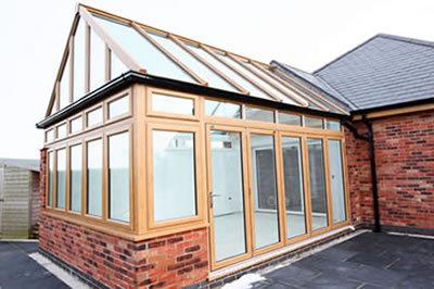our conservatory range includes lean-to's, victorian and edwardian conservatories, P & T shaped designs, gable ended style's, orangeries, tiled roof and conservatory upgrades