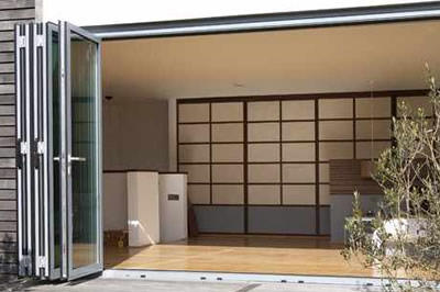 superb schüco aluminium bi-folding doors from Solihull WDC